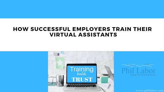How Successful Employers Train Their Virtual Assistants