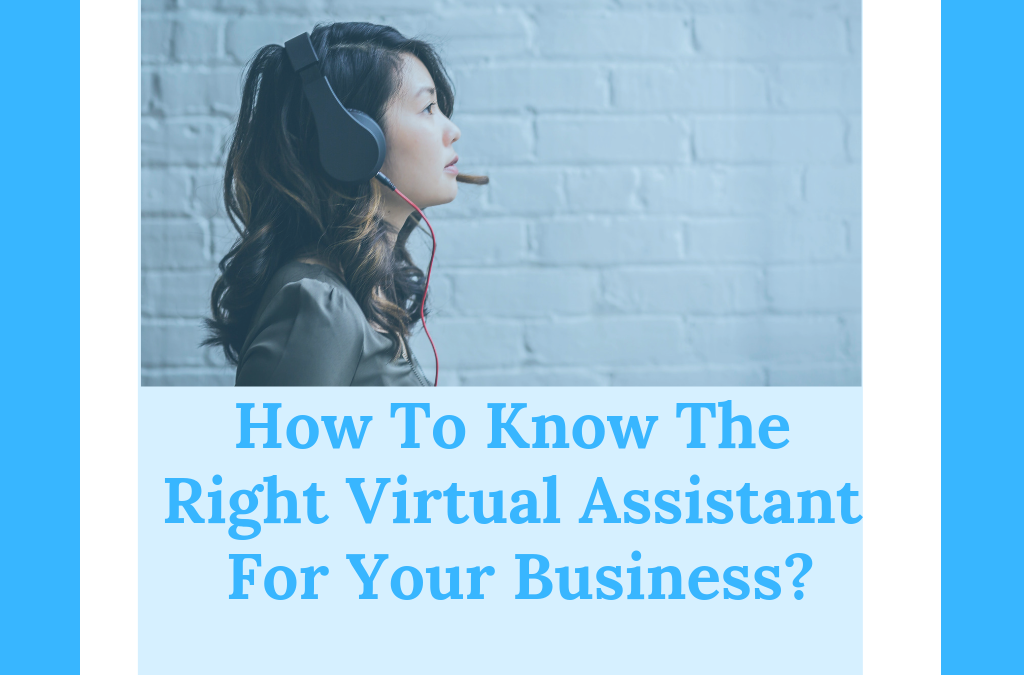 How To Know The Right Virtual Assistant For Your Business?