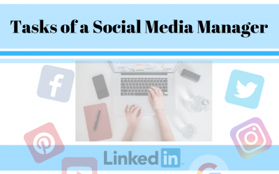Tasks of a Social Media Manager